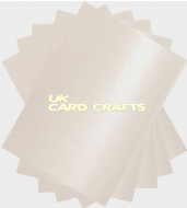 100 x A4 Pearl White Card Stock, Double Sided, 250gsm Stiff Board